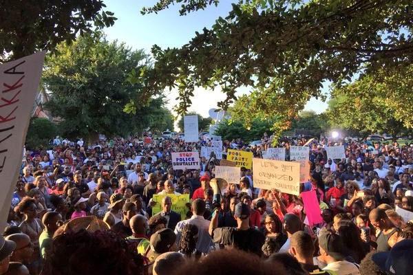 ABD'de polis şiddeti protesto edildi