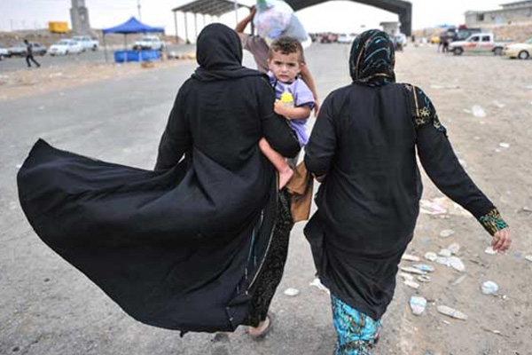 Irak'ta Sığınmacı Sayısı 3 Milyonu Geçti