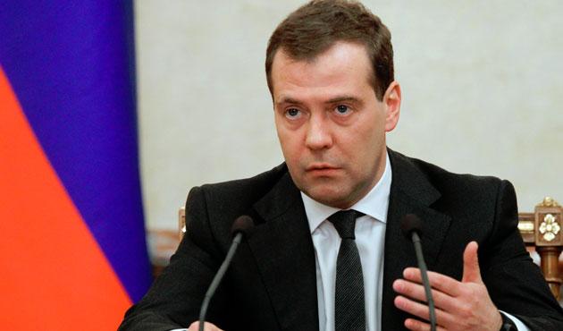 Medvedev'e göre Kırım'da GeçişDönemiBitti
