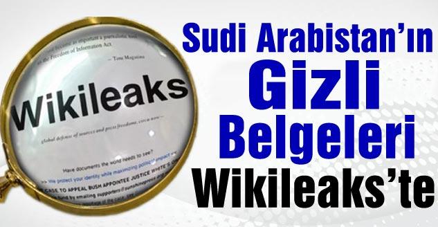 Sudi Arabistan'ın Gizli Belgeleri Wikileaks'te