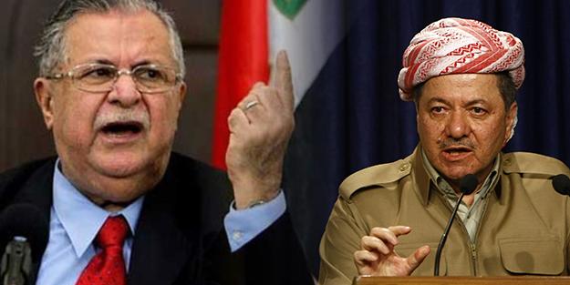 Barzani ve Talabani Karşı Karşıya