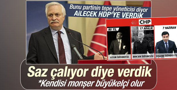 Demirtaş'aOy Veren CHP'li Özçelik: İyi Saz Çalıyor