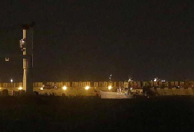 'Gazze'ye Özgürlük Filosu'nun Öncü Gemisi Aşdot Limanında