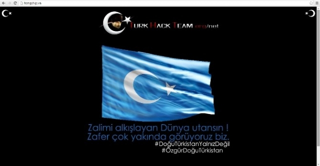 Türk Hackerlar Çin Devlet Sitelerini Çökertti