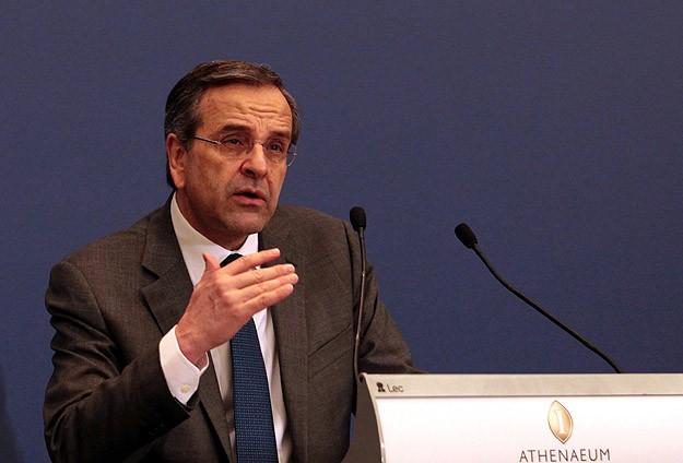 Yunanistan'da Referandum Snrası Samaras istifa etti