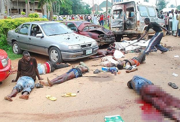 Nijerya'da BombalıSaldırı: 20 Ölü
