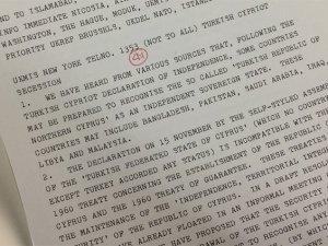 İngiltere KKTC'nin Tanınmamasını İstemiş
