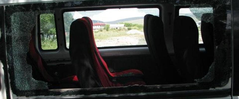 PKK Ardahan'da Minibüs Taradı