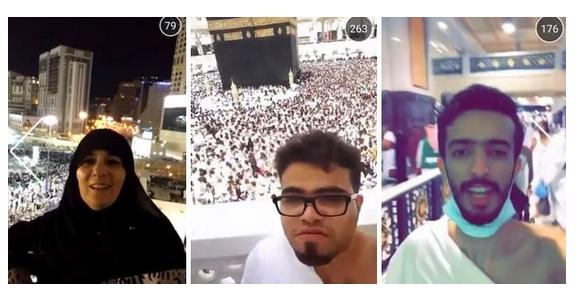 Snapchat Mekke'den Canlı Yayın Yaptı | FOTO