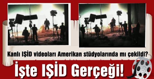 Kanlı IŞİD Videoları Amerikan Stüdyolarında Mı Çekildi?
