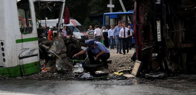 Rusya'da iki ayrı Trafik Kazası: 18Ölü