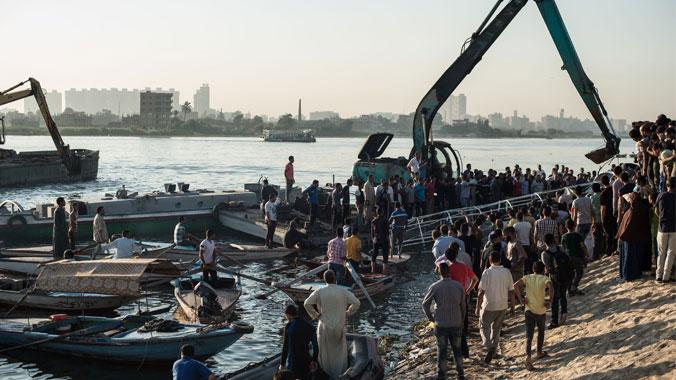 Nil'de Gemi Kazası: En Az 15 Ölü