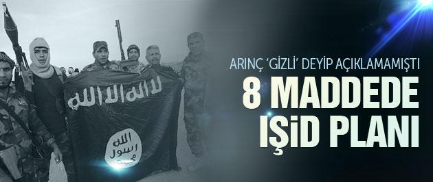 Türkiye'nin 8  Maddelik İŞİD Planı
