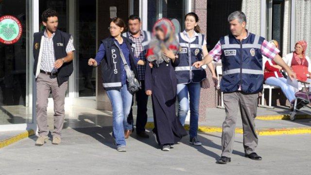Konya'da Canlı Bomba Şüphesiyle Bir Kadın Yakalandı