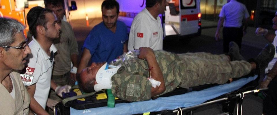 Lice'de saldırı: 2 Asker Hayatını kaybetti