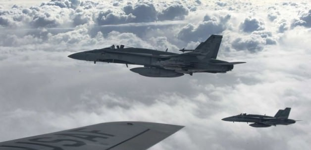 AA: ABD Savaş Uçakları Esad Güçlerini Vurdu
