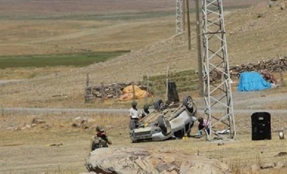 Karakola Saldıran PKK'lılar Kaçarken Kazada Öldü