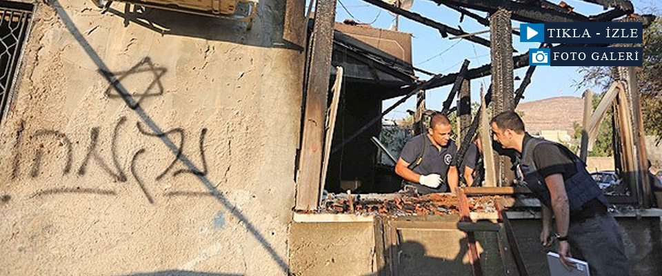 Yahudi Yerleşimciler Filistinli Bebeği Yaktı
