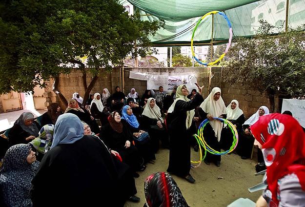 Gazze'deki Huzurevi Yaşlıların Umudu Oldu