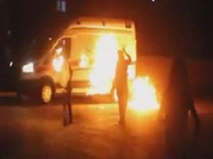 PKK Ambulansa Saldırdı