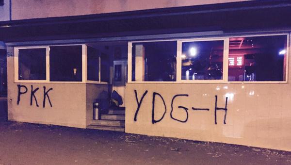 PKK'lılar, Cami Lokaline Saldırdı