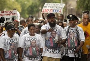 Ferguson Cinayetinin Birinci Yıldönümü Protestoları