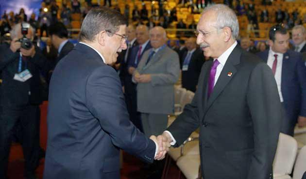Davutoğlu ve Kılıçdaroğlu Koalisyonu Görüşecek