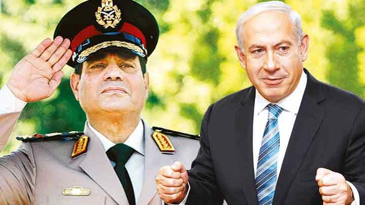 Sisi ile Netanyahu ilk kez ABD'de Bir Araya Geldi