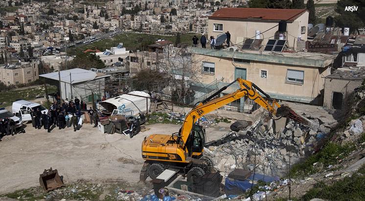 İşgalci İsrail Yıkıma Devam Edecek
