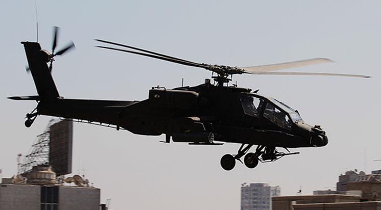 Mısır'da Askeri Helikopter Düştü