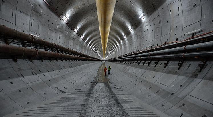 Avrasya Tüneli'nde Sona Doğru Yaklaşıldı
