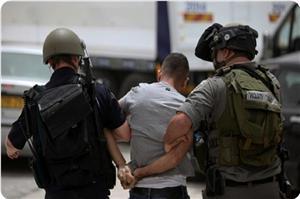 İsrail Askerleri 24 Filistinli'yi Gözaltına Aldı