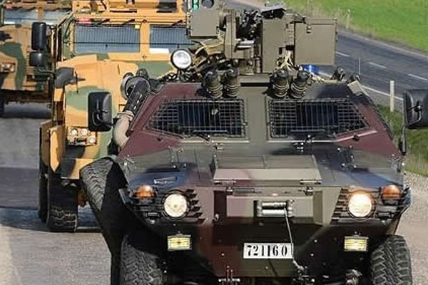 PKK'dan Askeri Konvoya Saldırı