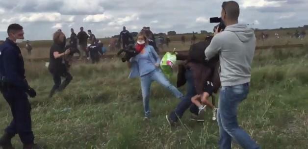 Sığınmacılara Çelme Takan Kameramanın Cezası Belli Oldu