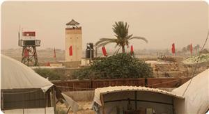 Mısır Ordusu Gazze Şeridi Sınırına Kırmızı Bayraklar Astı