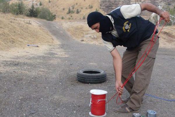 Urfa'da 6,5 ton Patlayıcı İmha Edildi
