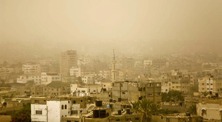 Siyonistler Gazze'yi Bombaladı
