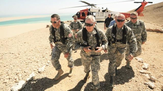 ABD Askerlerinin Çekilme Güzergahı Belli Oldu