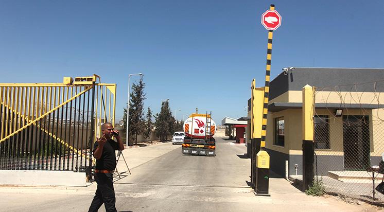 Ebu Salim Sınır Kapısı Açıldı