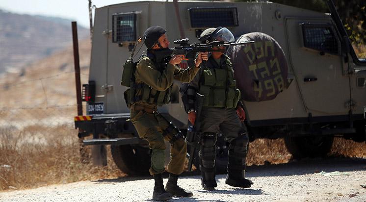 İşgalci İsrail Güçleri Filistinlilere Ateş Açtı: 42 Yaralı