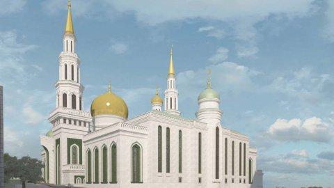 Moskova Merkez Camii Yarın Açılıyor