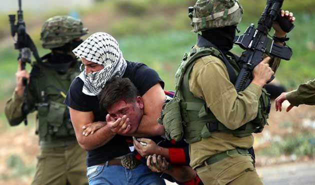 İsrail Askerlerinden Batı Şeria Terörü