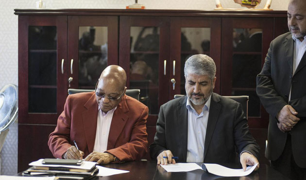 Hamas lideri Meşal Güney Afrika'da