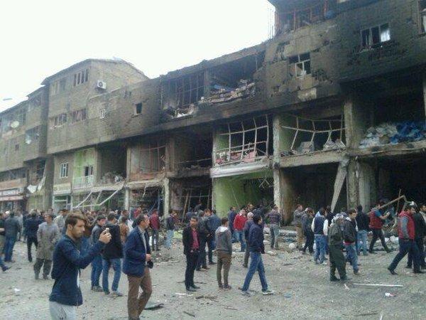 PKK Şemdinli'de Hastaneyi Vurdu | FOTO