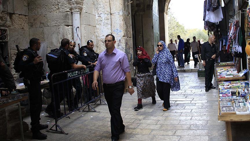 Kudüslü Sekiz Genci 15 Gün Süreyle Mescid-i Aksa'dan Uzaklaştırdı
