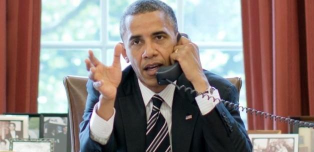 Obama'dan Erdoğan'a Musul Telefonu