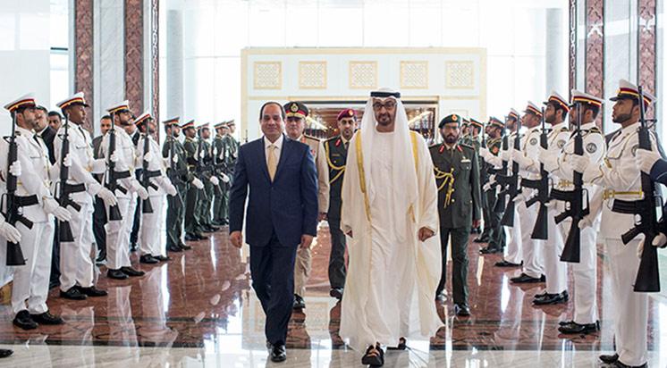 Mısır Cumhurbaşkanı Sisi'nin Abu Dabi Ziyareti