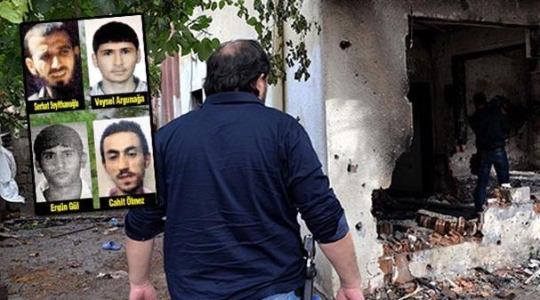 Diyarbakır' 8 Terörist  Tutuklandı
