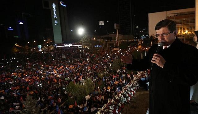 AKP'den Davutoğlu'na Uyarı