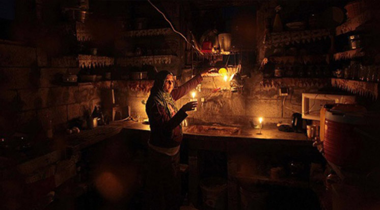 Gazze'de Elektirik Krizi